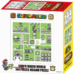 Super Mario World - 30th Anniversary 144 Pieces Jigsaw Puzzle