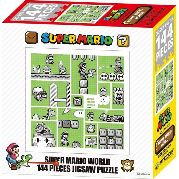 Super Mario World - 30th Anniversary 144 Pieces Jigsaw Puzzle