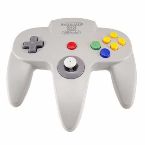 Retro-Bit Nintendo 64 Classic Controller Grå