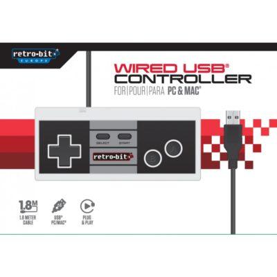 Retro-Bit 8-Bit Classic Controller USB