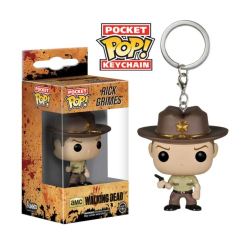 Pocket Pop! Keychain: The Walking Dead - Rick Grimes