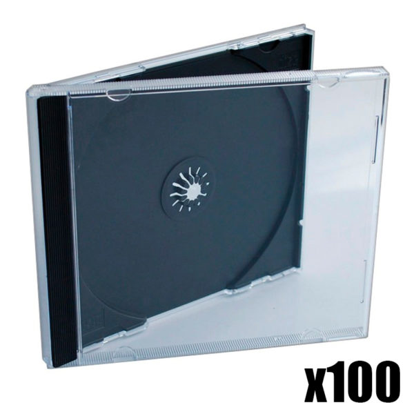 100x CD Jewelcase