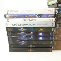 Blizzard PC Spil Lot (World of Warcraft, StarCraft, Diablo, Overwatch)