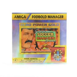 Fodbold Manager / Graeme Souness Soccer Manager (Amiga, Euro Power Pack)
