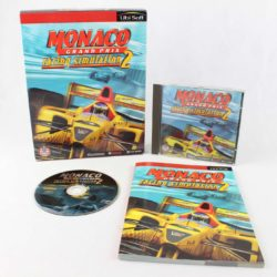 Monaco Grand Prix Racing Simulation 2 (PC Big Box, 1998, Ubisoft)