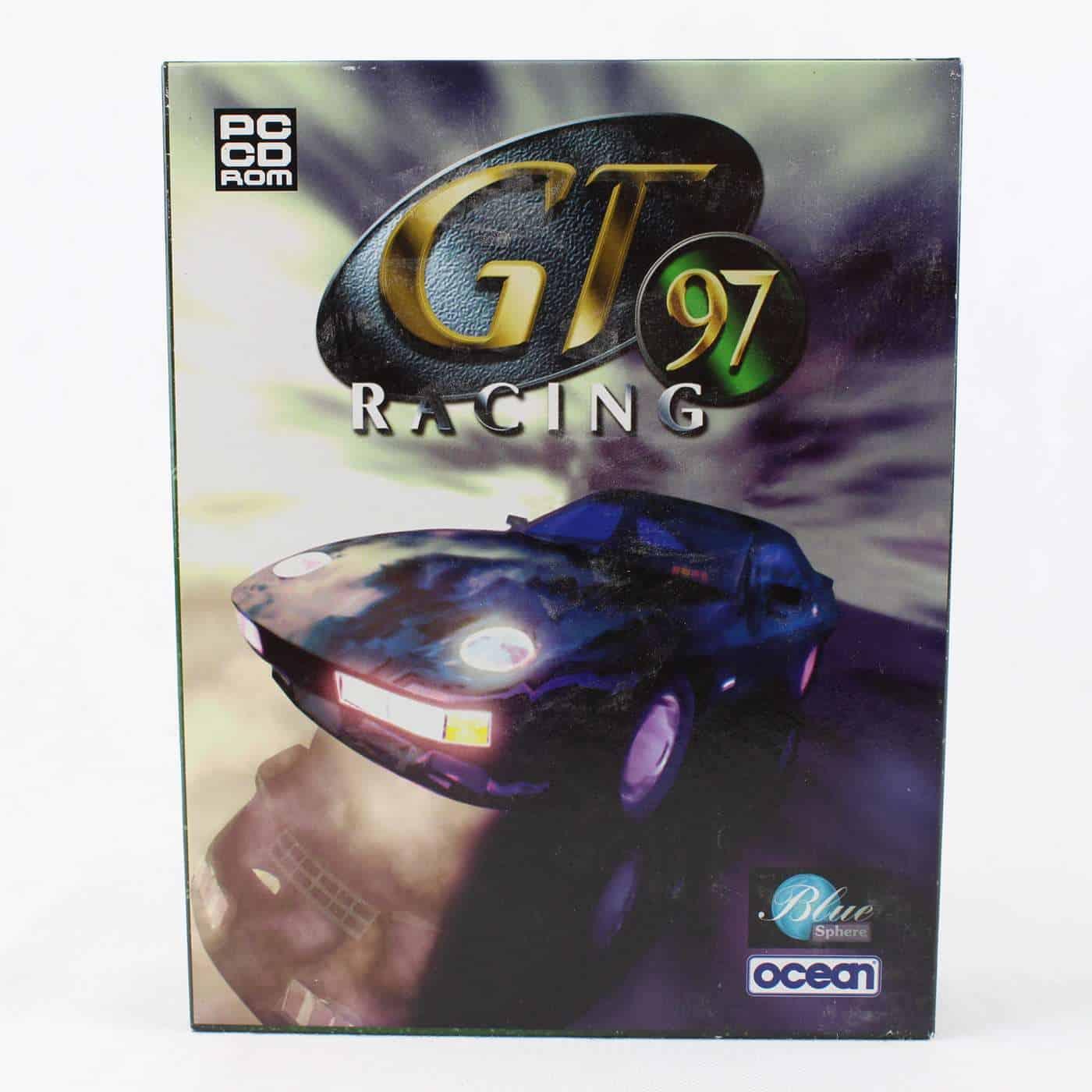 GT Racing 97 (PC Big Box, 1997, Blue Sphere)