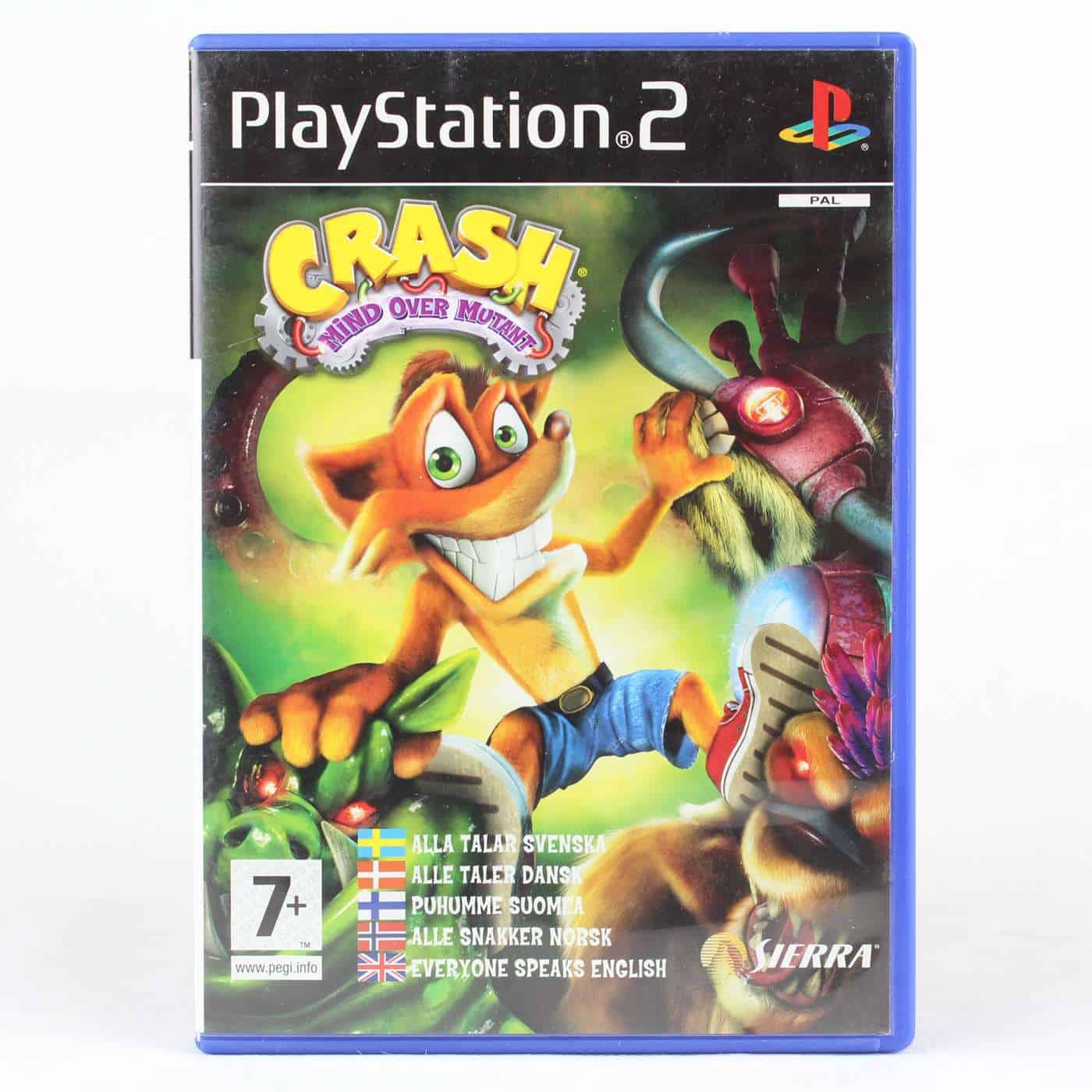 Crash: Mind over Mutant (Platstation 2)