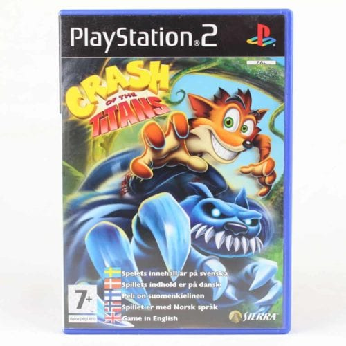 Crash of the Titans (Playstation 2)
