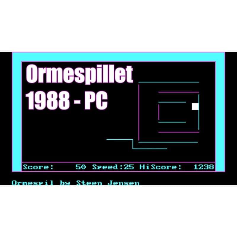 Ormespillet fra 1988 til PC