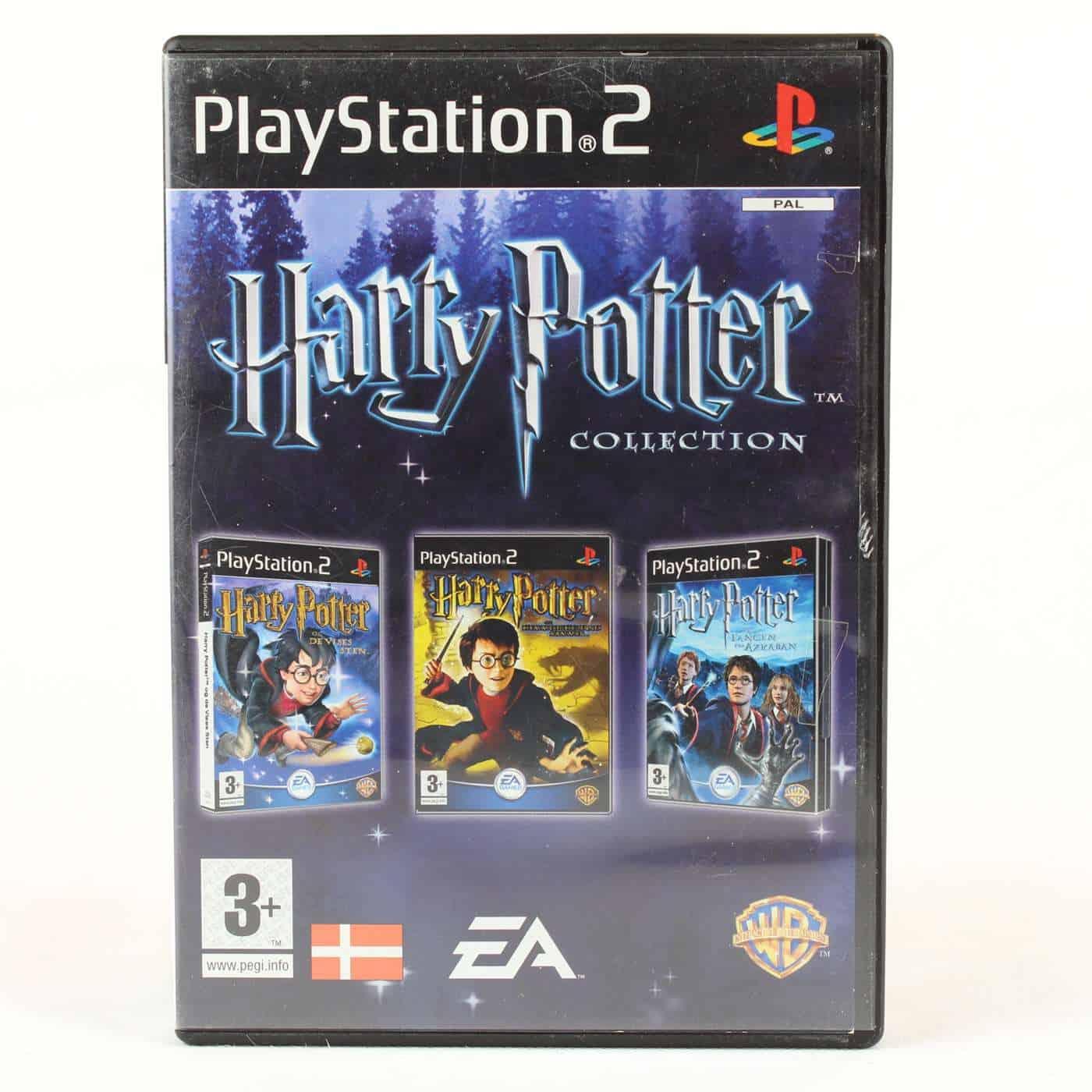Harry Potter Collection (Playstation 2 - Dansk)