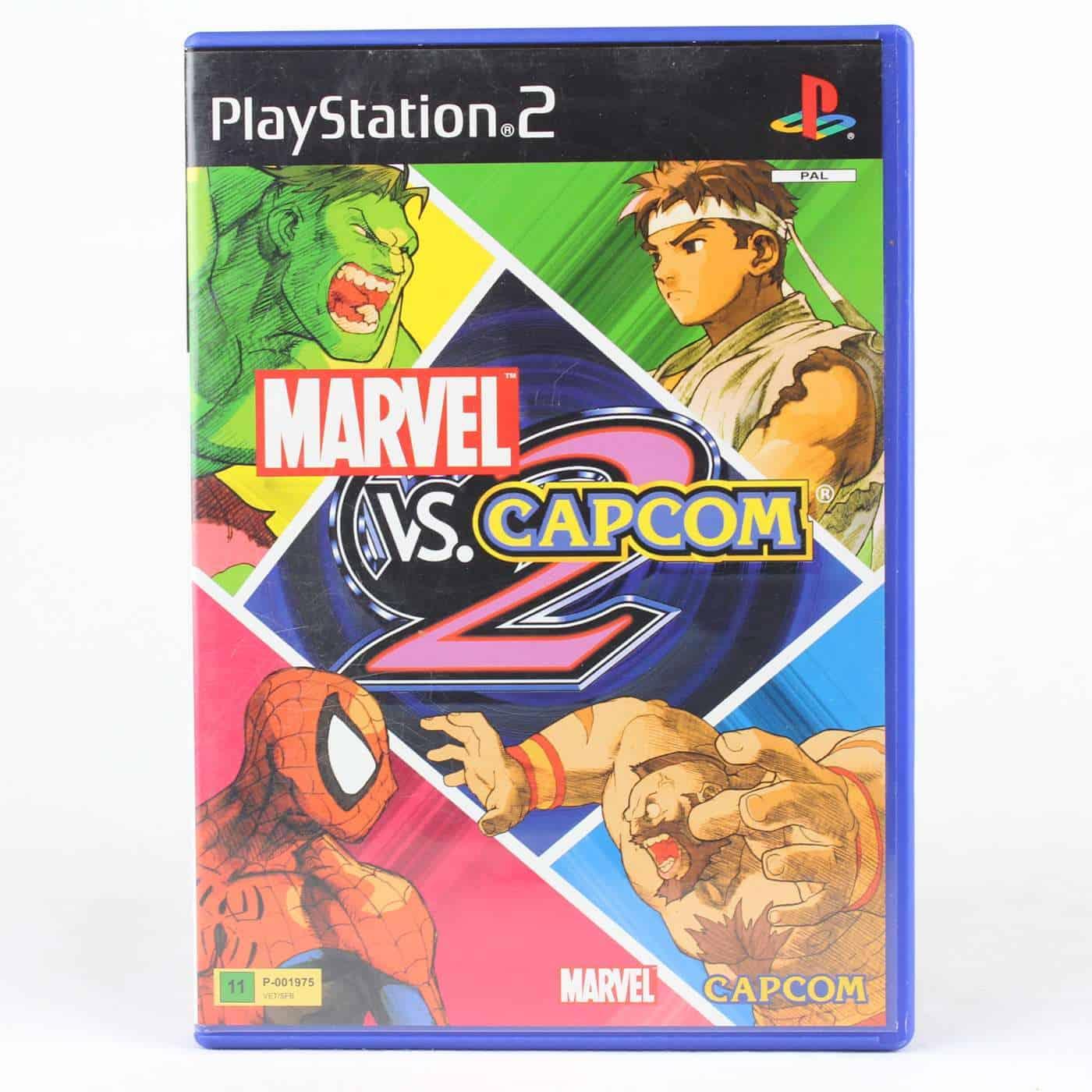 Marvel vs. Capcom 2 (Playstation 2)