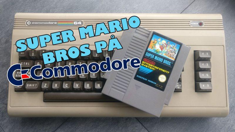 Super Mario Bros på Commodore 64
