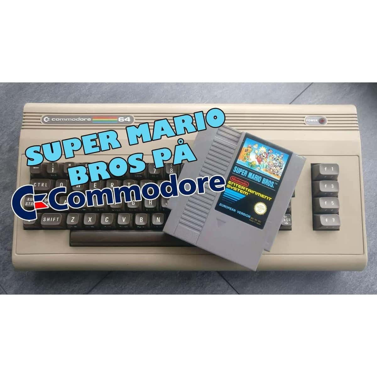 Super Mario Bros på Commodore 64