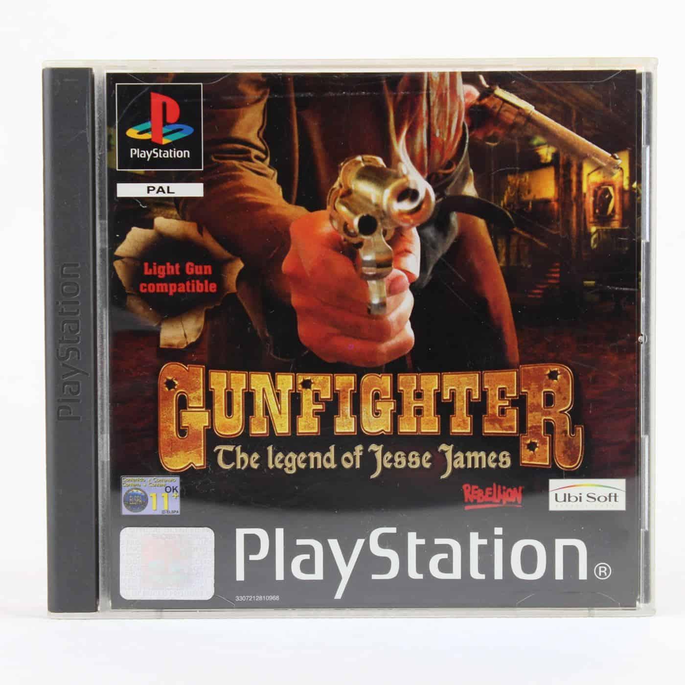 Gunfighter: The Legend of Jesse James (Playstation 1)