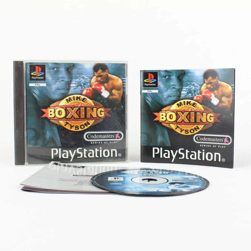 Mike Tyson Boxing (Playstation 1)