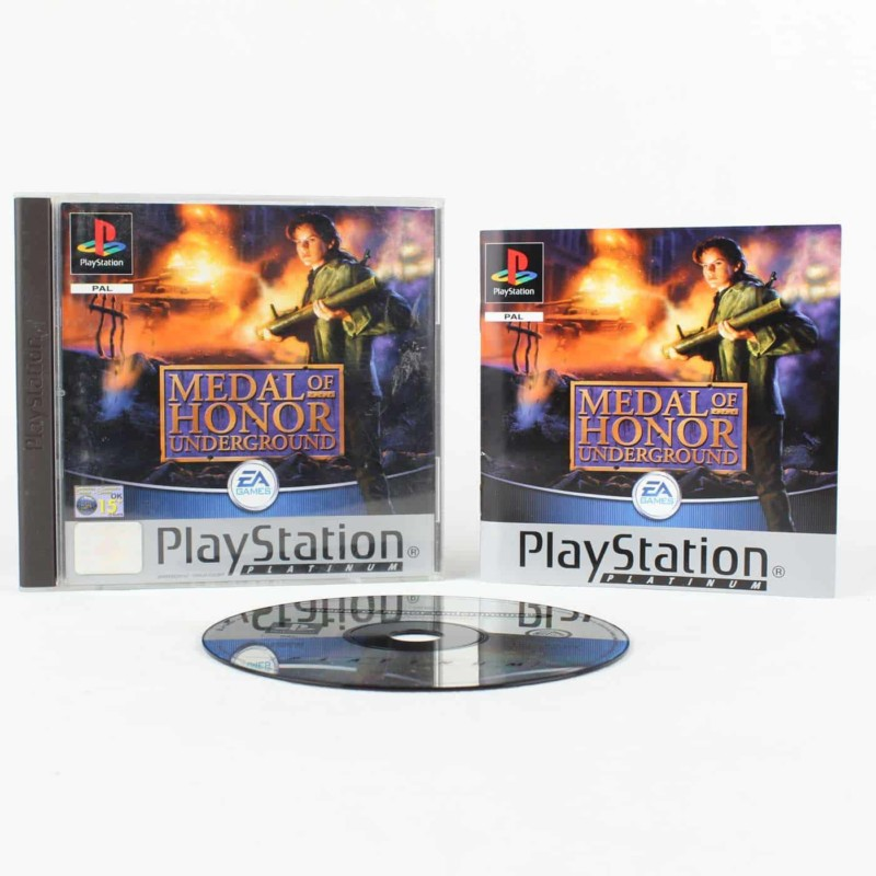 Medal of Honor: Underground (Playstation 1)