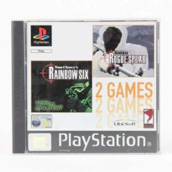 2 Games: Tom Clancy's Rainbow Six / Tom Clancy's Rainbow Six: Rogue Spear (PS1)