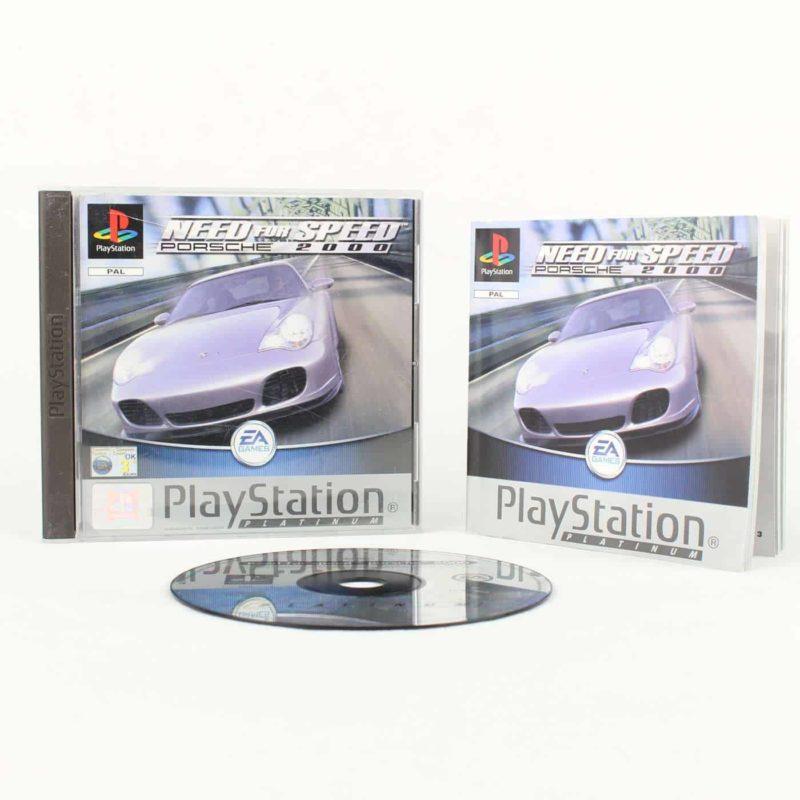 Need for Speed: Porsche 2000 (Playstation 1 - Platinum)