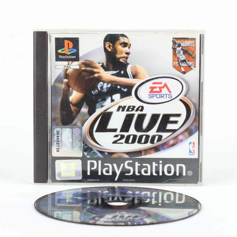 NBA Live 2000 (Playstation 1)