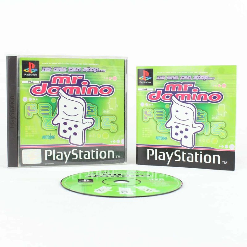 No One Can Stop Mr. Domino (Playstation 1)