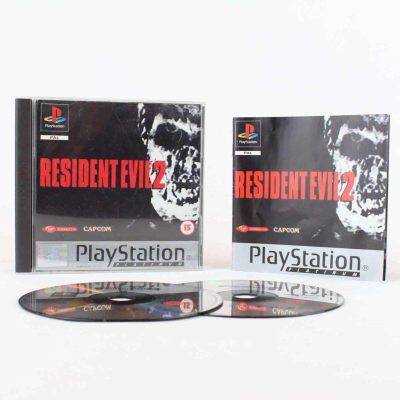 Resident Evil 2 (Playstation 1 - Platinum)