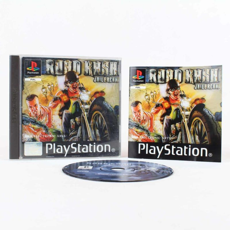 Road Rash: Jailbreak (Playstation 1)