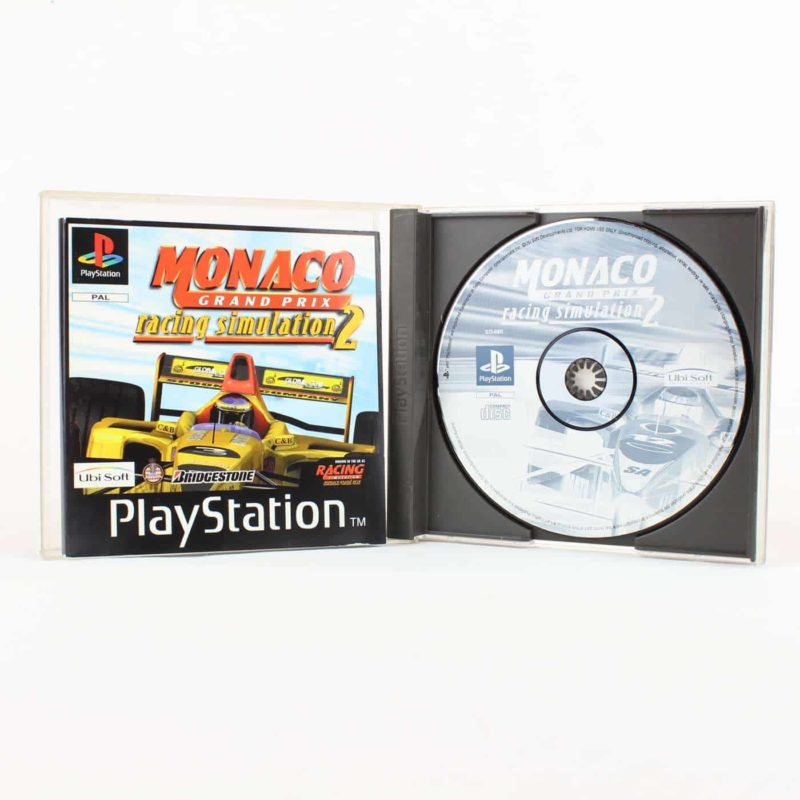 Monaco Grand Prix Racing Simulation 2 (PS1)