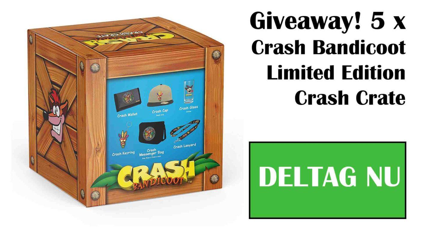 Crash Bandicoot Limited Edition Crates Giveaway
