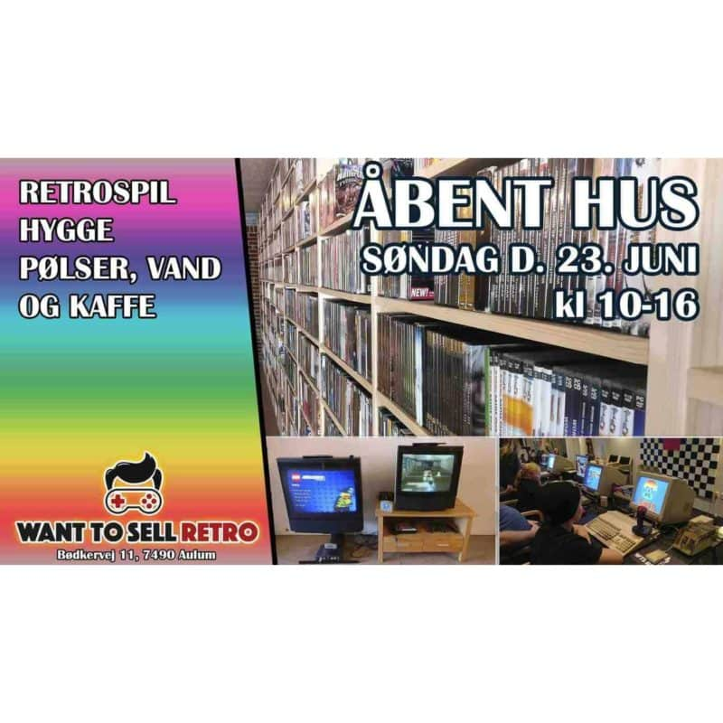 Åbent hus hos Want To Sell Retro