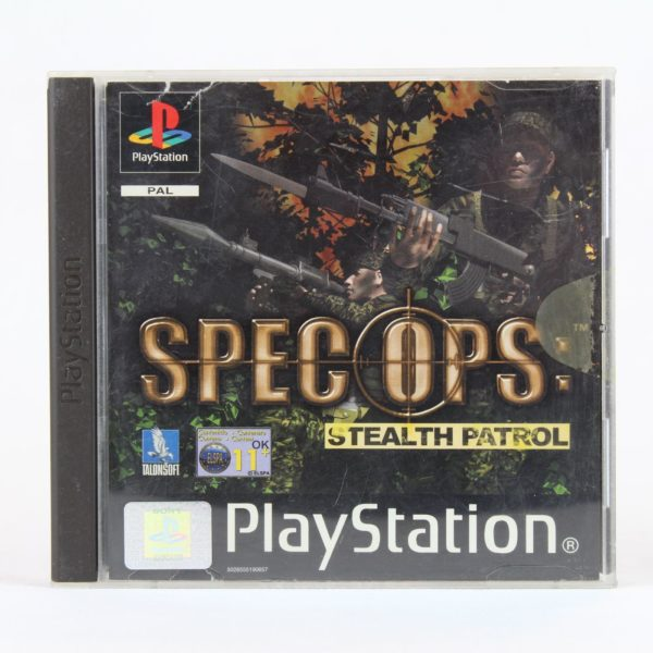 Spec Ops: Stealth Patrol (Playstation 1)