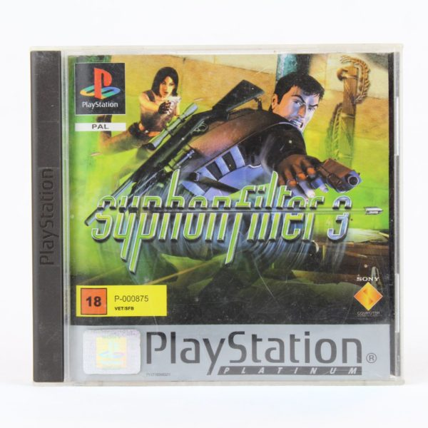 Syphon Filter 3 (Playstation 1 - Platinum)
