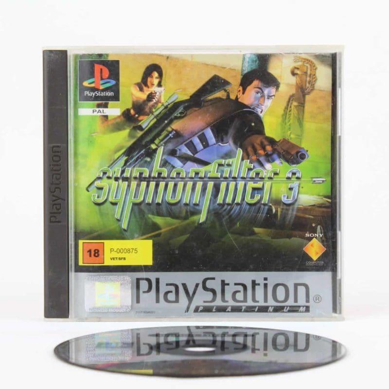 Syphon Filter 3 (Playstation 1 - Platinum)