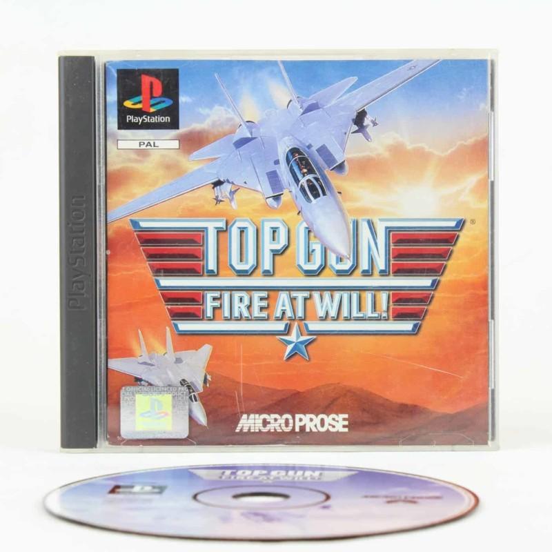 Top Gun: Fire at Will! (Playstation 1)