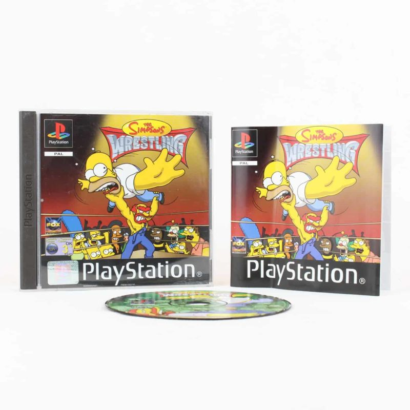 The Simpsons Wrestling (Playstation 1)