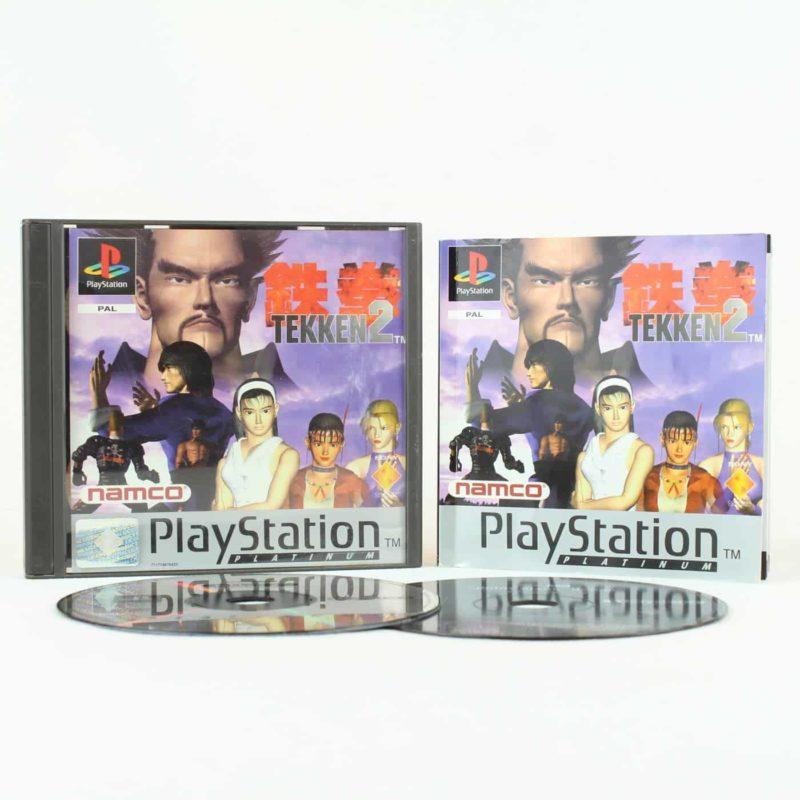 Tekken 2 (Playstation 1 - Platinum)