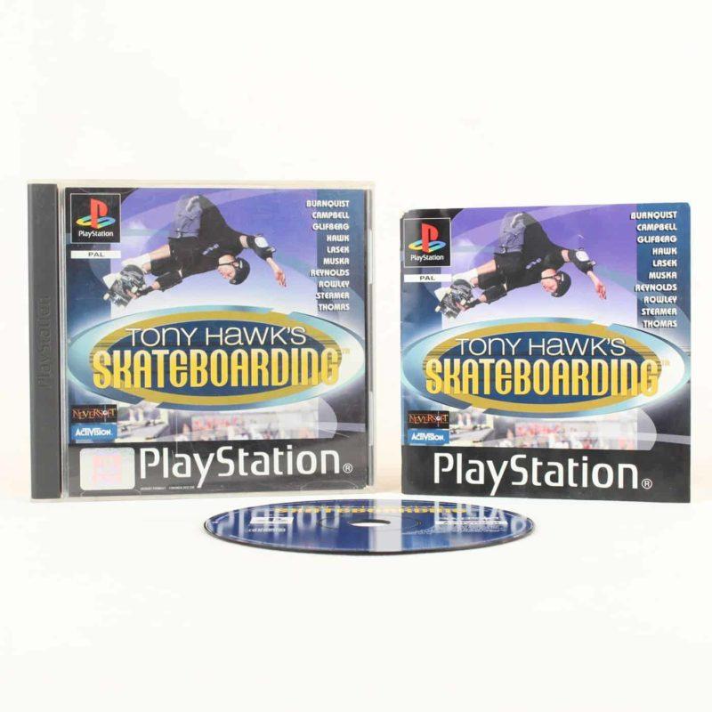 Tony Hawk's Skateboarding (Playstation 1)