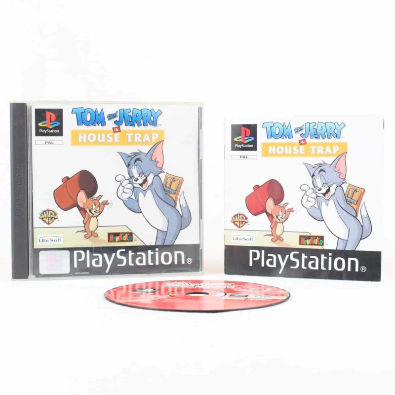 Tom and Jerry in House Trap (Playstation 1)