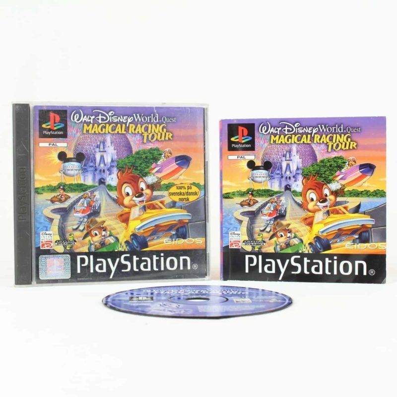 Walt Disney World Quest: Magical Racing Tour (PS1)