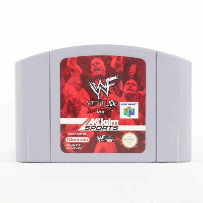 WWF Attitude (Nintendo 64)