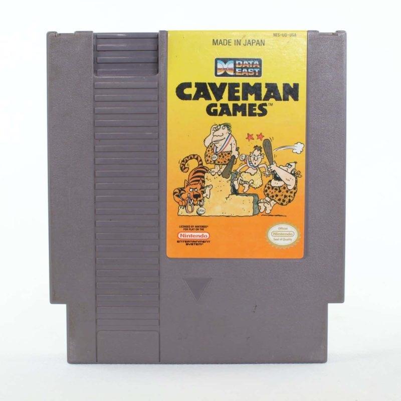 Caveman Games (Nintendo NES, USA/NTSC)