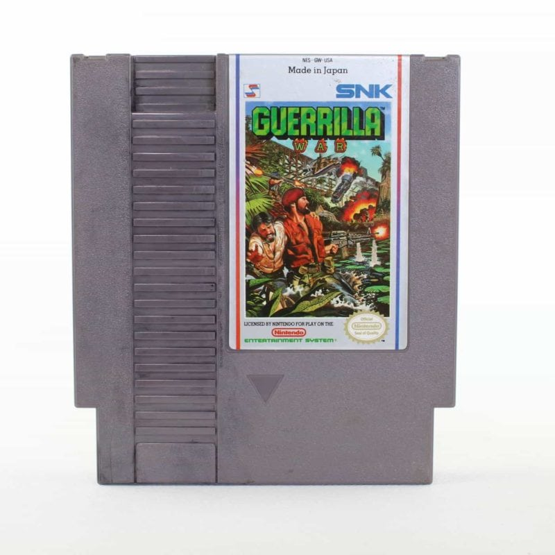 Guerrilla War (Nintendo NES, USA/NTSC)