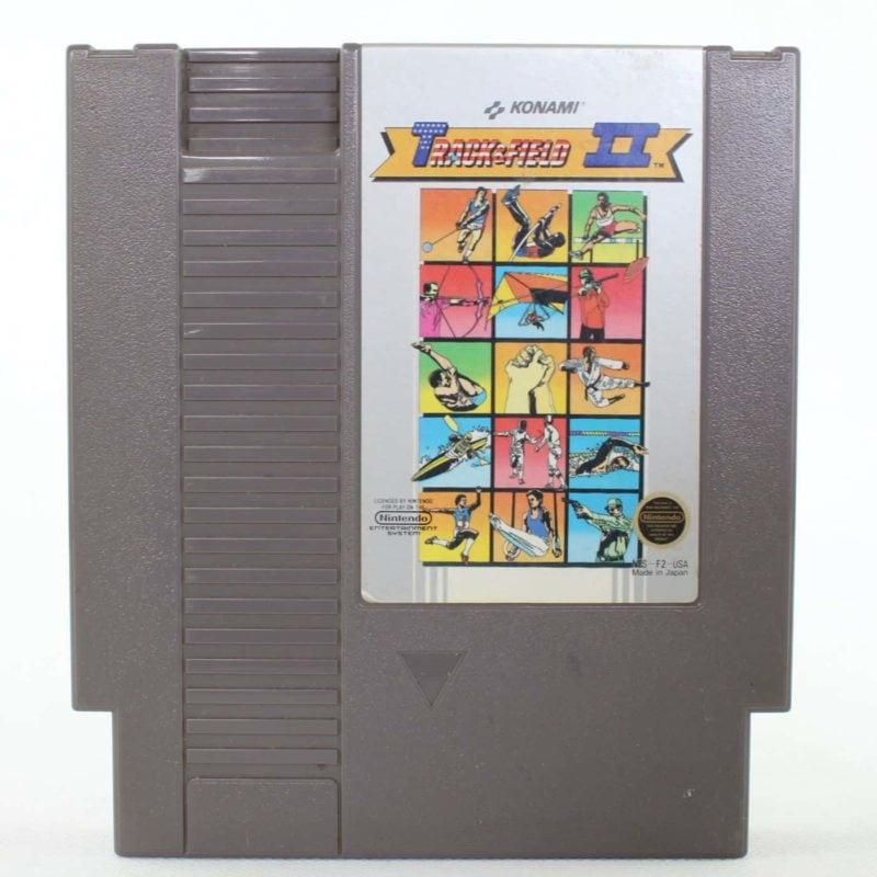 Track & Field II (Nintendo NES, USA/NTSC)