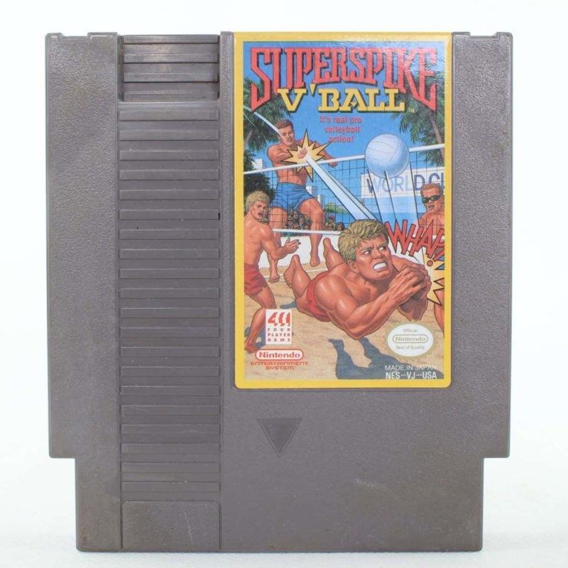 Super Spike V'Ball (Nintendo NES, USA/NTSC)
