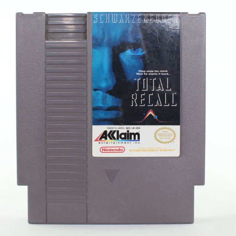 Total Recall (Nintendo NES, USA/NTSC)