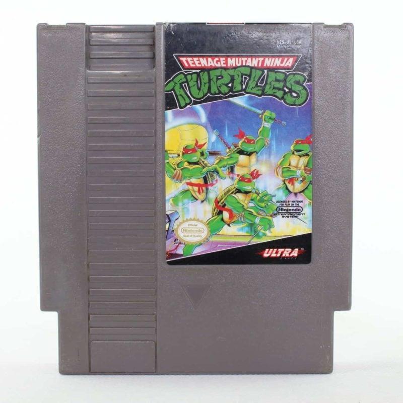 Teenage Mutant Ninja Turtles (Nintendo NES, USA/NTSC)