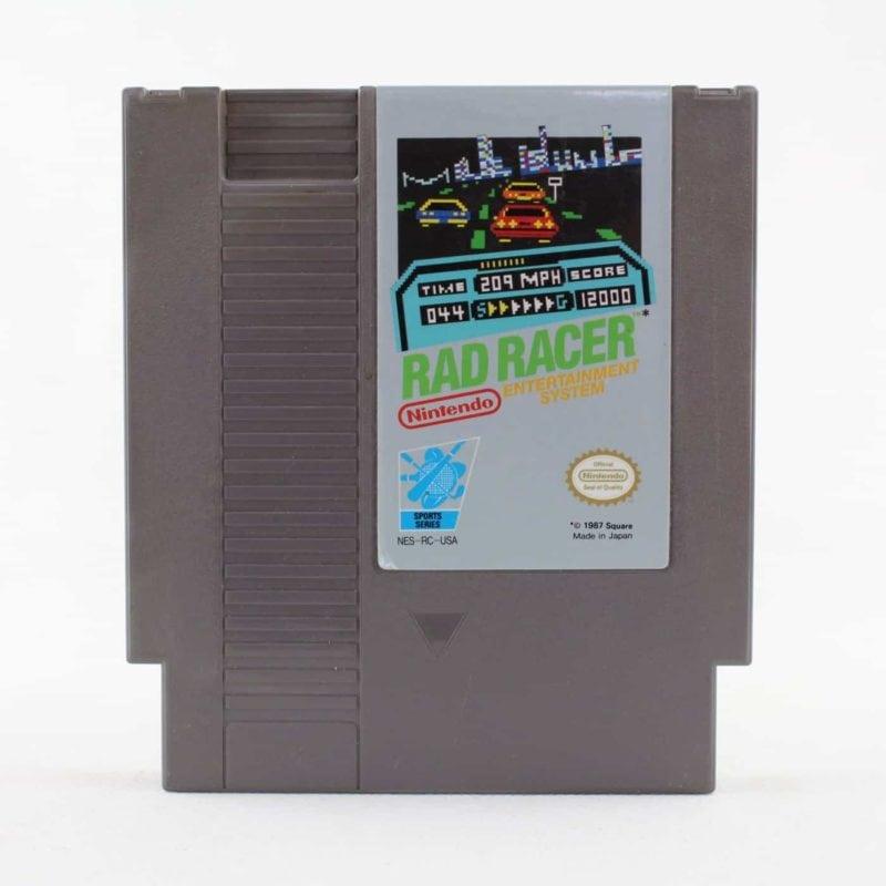 Rad Racer (Nintendo NES, USA/NTSC)