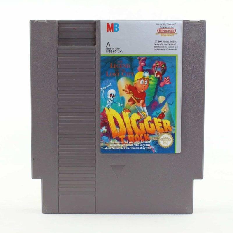 Digger T. Rock: Legend of the Lost City (NES, PAL-A, UKV)