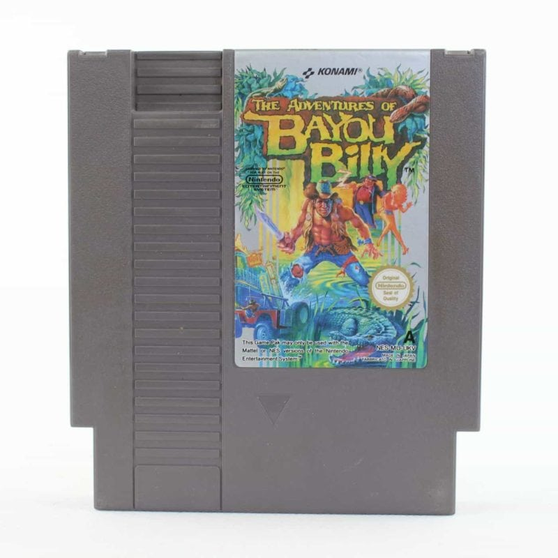The Adventures of Bayou Billy (NES, PAL-A, UKV)