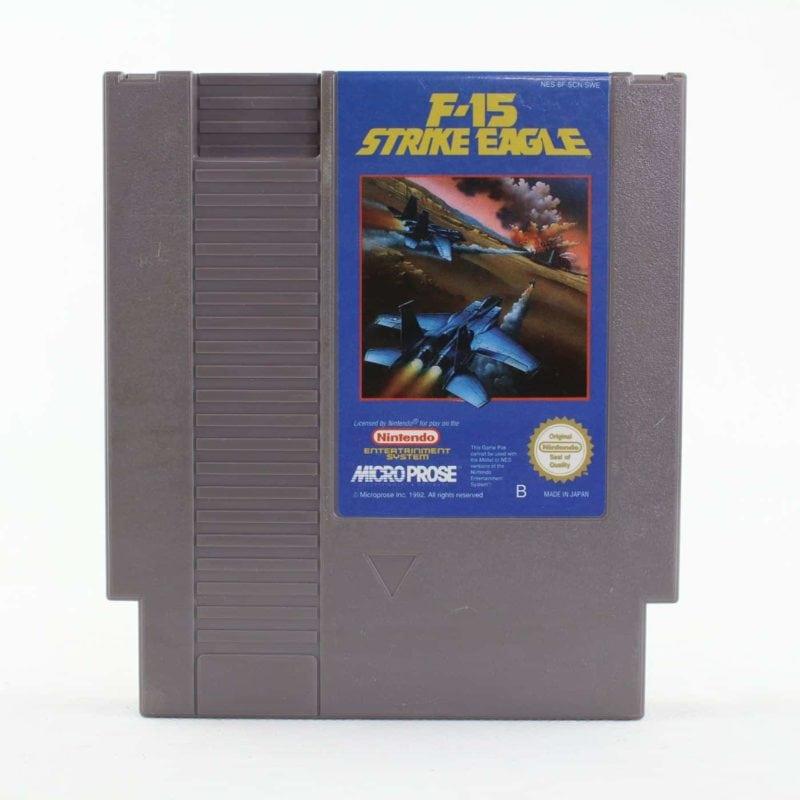 F-15 Strike Eagle (Nintendo NES, PAL-B, SCN)