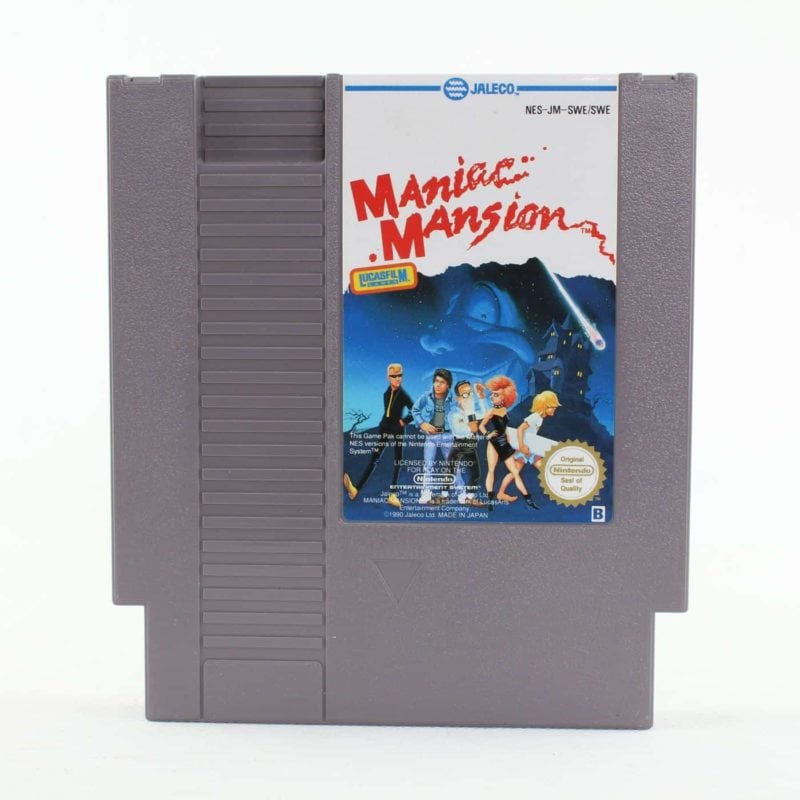 Maniac Mansion (Nintendo NES, PAL-B, SCN)